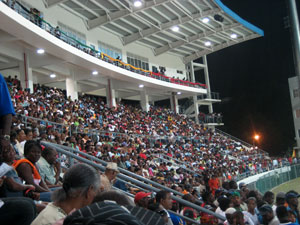 Winsor Park Sports Stadium - Opening Night