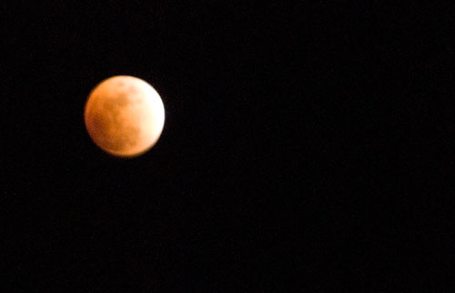 Lunar Eclipse in Dominica