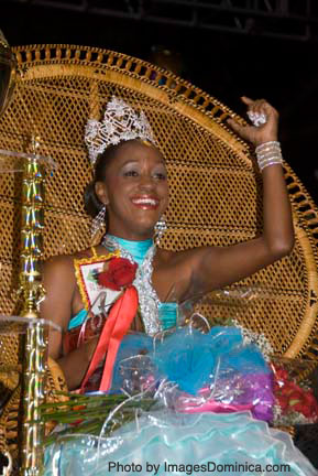 Miss Dominica 2009 & Carnival Queen Kayan Toussaint