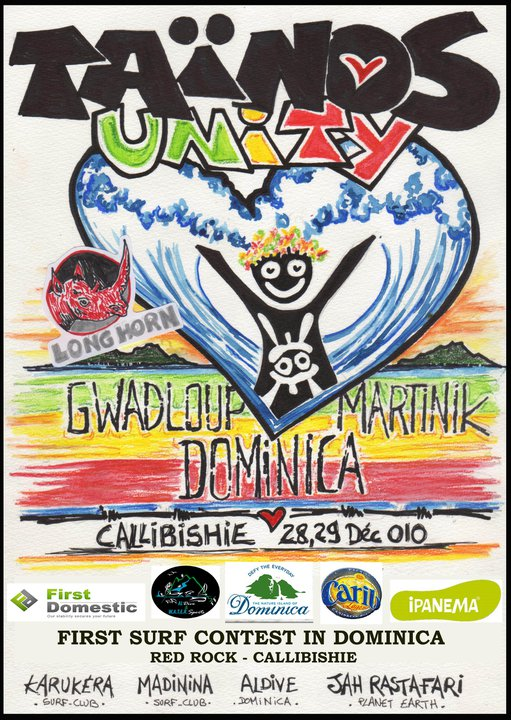 Surfing Competition in Dominica