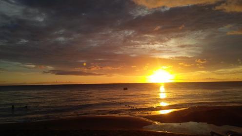 Sunset at Mero Beach
